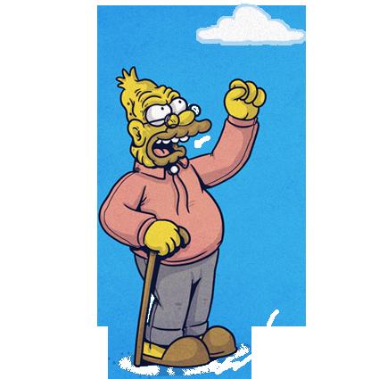 man yells at cloud